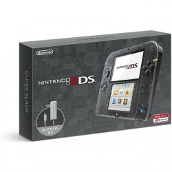 Nintendo 2 DS (Clear Black)-JP