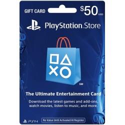 (gift card )PSN CARD  50 USD | PLAYSTATION NETWORK US