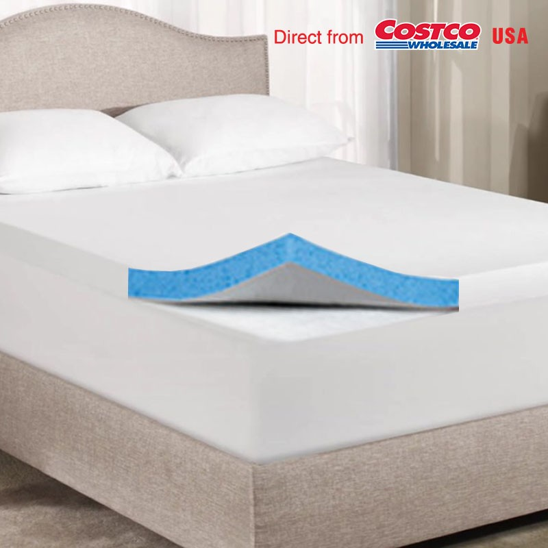 Mattress topper costco foam mattress topper costco for Online shopping for mattress