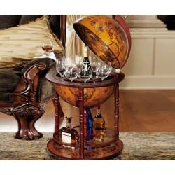 Italian Replica Old World Globe Bar