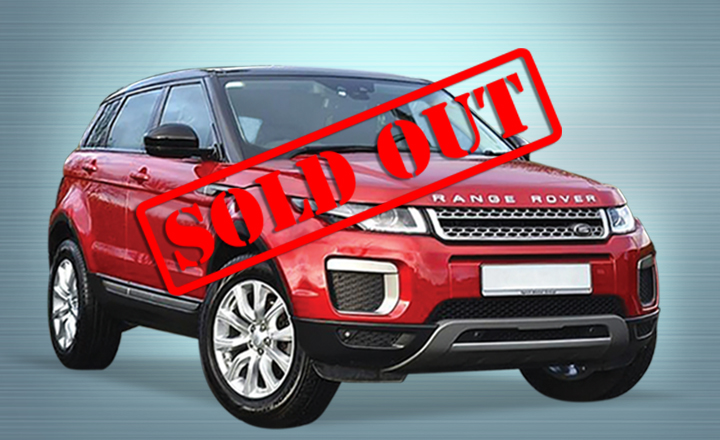 Range Rover Evoque Red